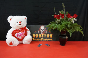 Valentines Package 2 VIP tickets, dozen roses, 24 inch stuffed bear