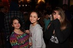 Trio waiting to enter our haunted house.